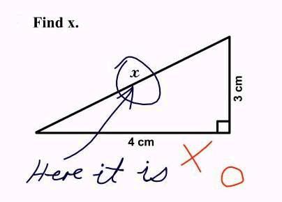 Encontrando o valor de X