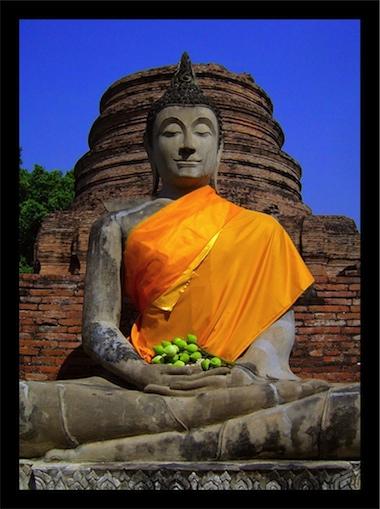 Buda em Ayuttaya - Tailândia