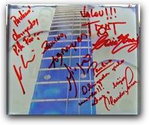 Meu CD autografado