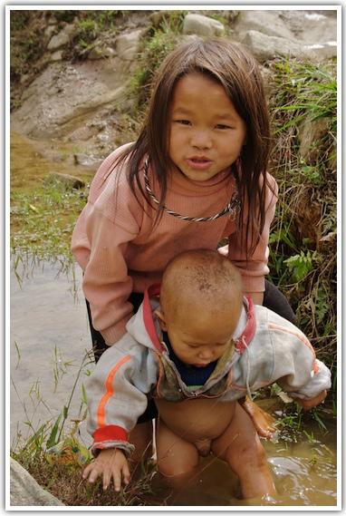 Crianças em Sa Pa - Vietnã