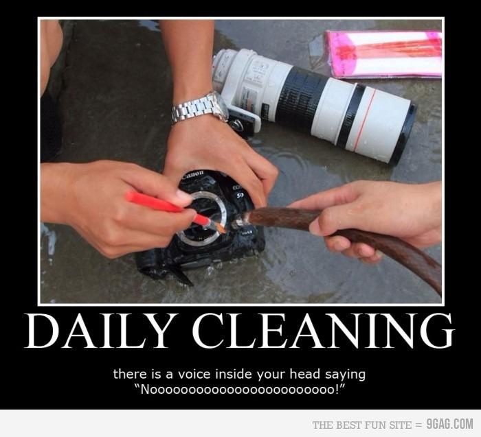 Limpando uma EOS